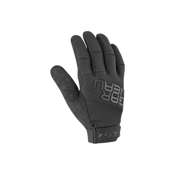 Louis Garneau Black Elan Long Finger Gloves