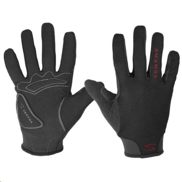 Serfas Starter Ladies Black Long Finger Gloves