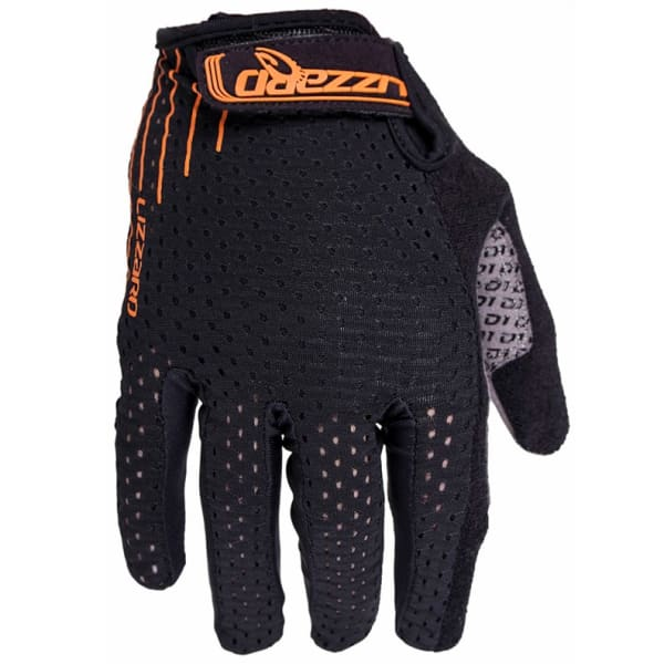 Lizzard Dactyl Orange Long Finger Gloves
