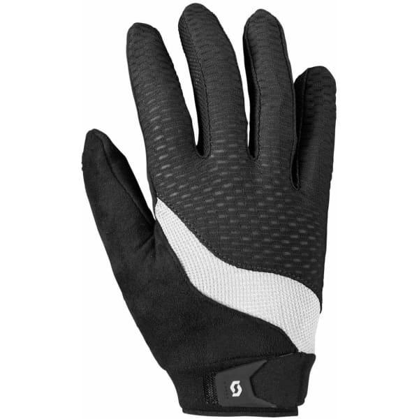 Scott Essential Ladies Black/White Long Finger Gloves