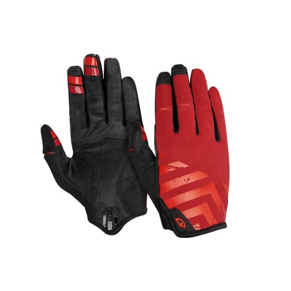 Giro Red DND Long Finger Gloves