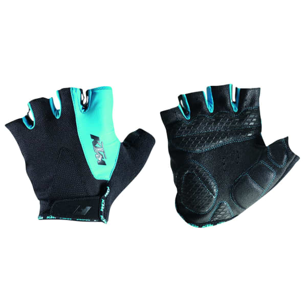 KTM Factory Line Blue Short Finger Gloves