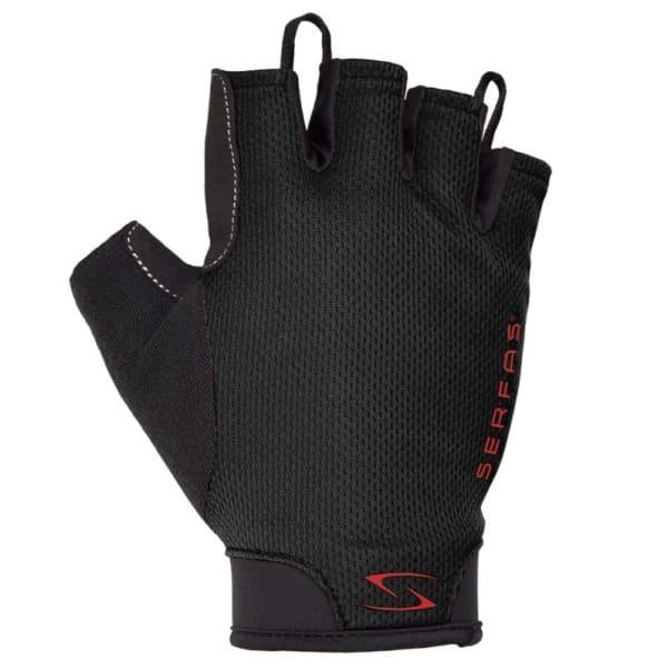 Serfas Starter Black Short Finger Gloves