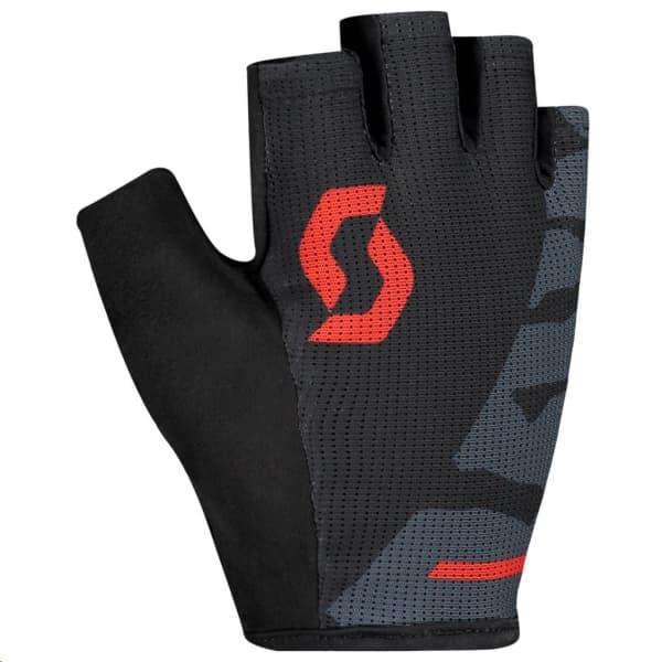 Scott Aspect Sport Grey/Red Short Finger Gloves