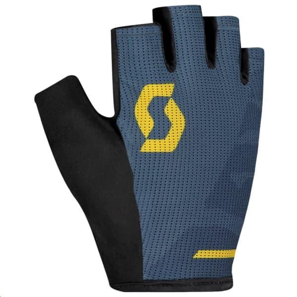 Scott Aspect Sport Blue/Yellow Short Finger Gloves