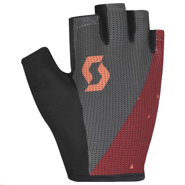 Scott Ladies Grey Merlot Aspect Gel Short Finger Gloves