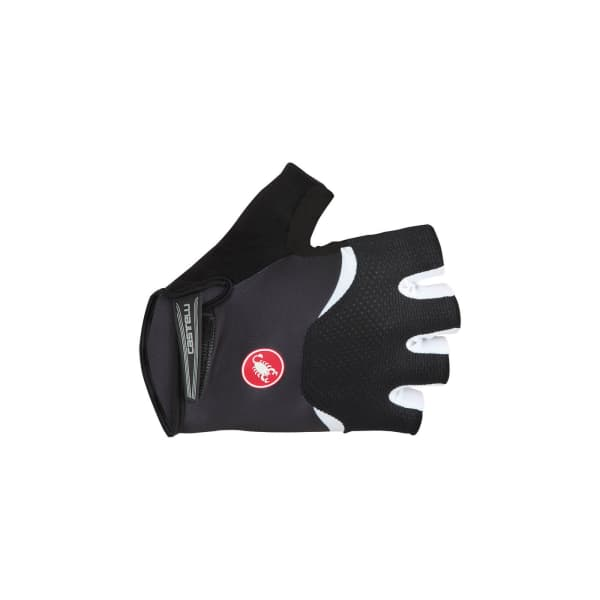 Castelli Arenburg Gel Short Finger Black Gloves
