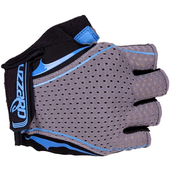 Lizzard Digit Grey/Blue Short Finger Gloves