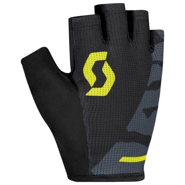 Scott Aspect Sports Gel Black/Yellow Short Finger Gloves