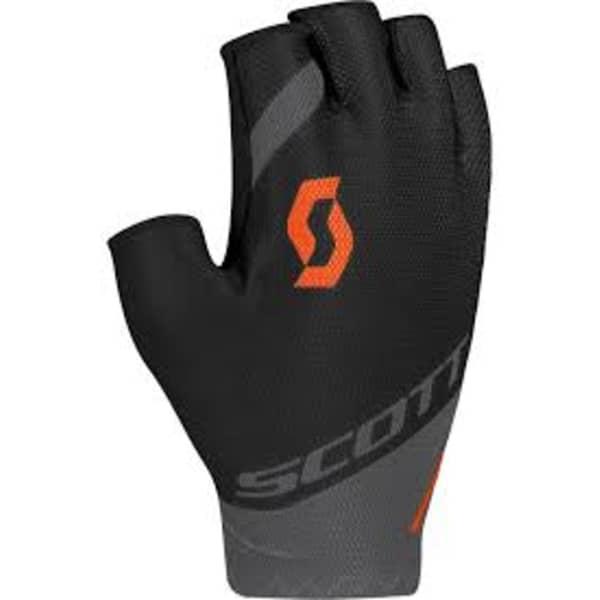 Scott RC Team Grey/Orange Short Finger Gloves