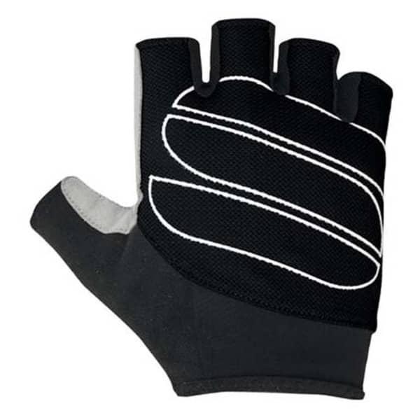 Sportful Black Illusion Short Finger Gloves