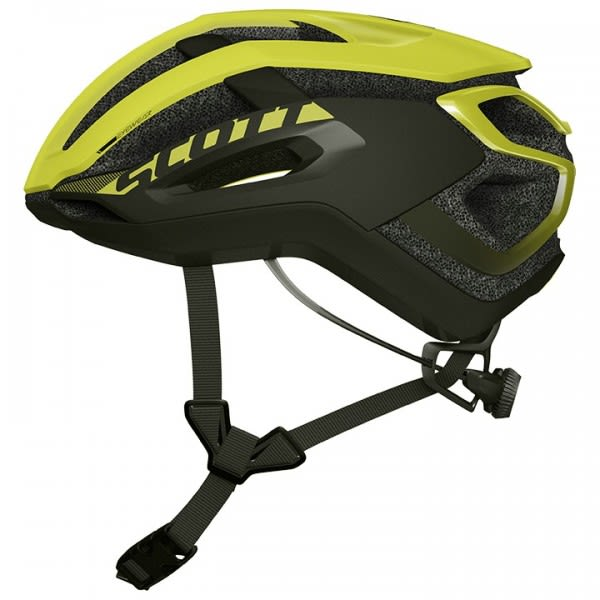 Scott Centric Plus Black/Yellow Road Helmet