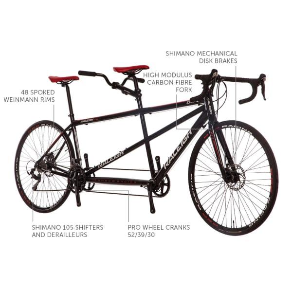 Raleigh Duo Tandem Road Bike