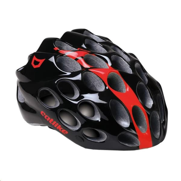 Catlike Whisper Black/Red Road Helmet