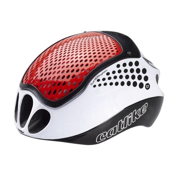 Catlike Cloud 352 White/Red Road Helmet