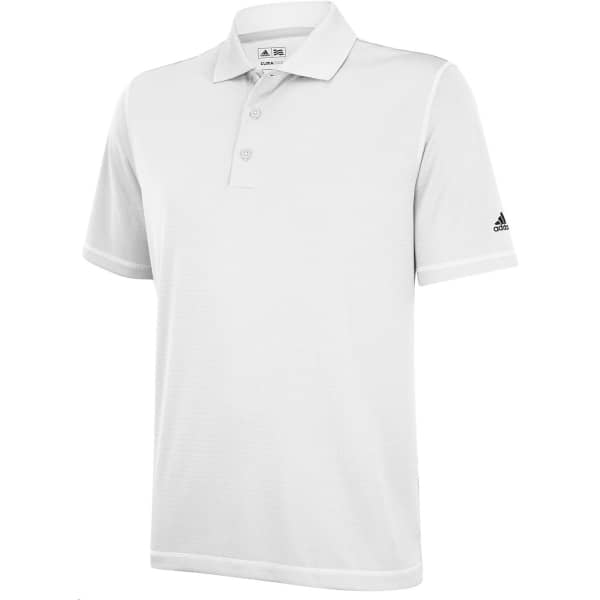 Adidas Solid Men's White Shirt
