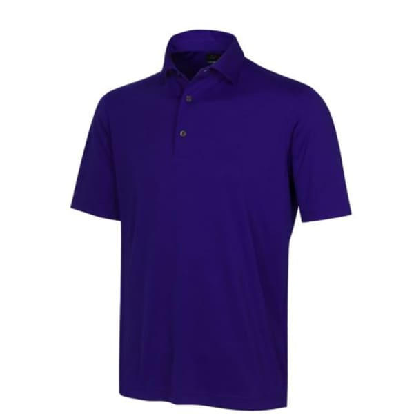 Greg Norman Protek 2Below Men's Blue Ink Shirt