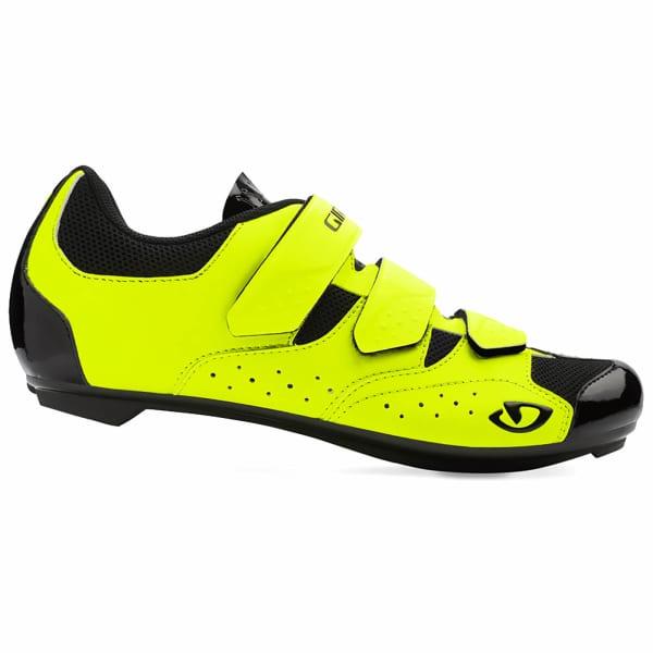 Giro Techne Men's Yellow/Black Road Shoe