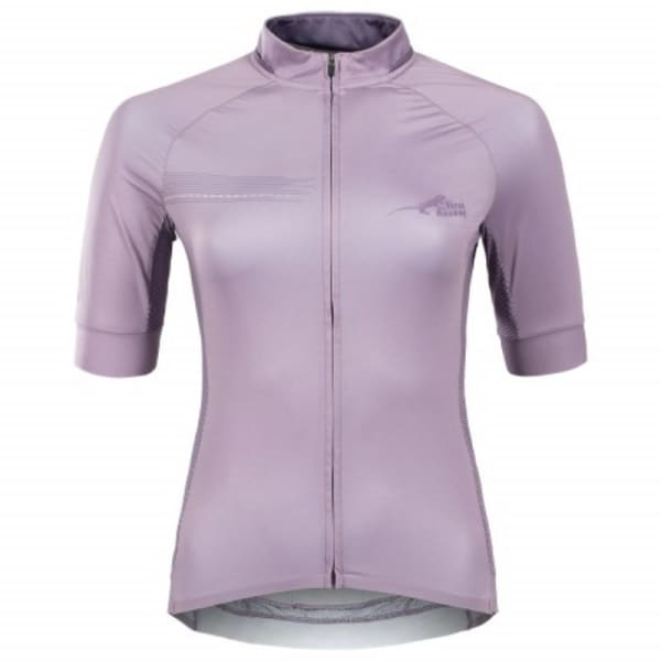 First Ascent Ladies Lilac Victory Short Sleeve Jersey