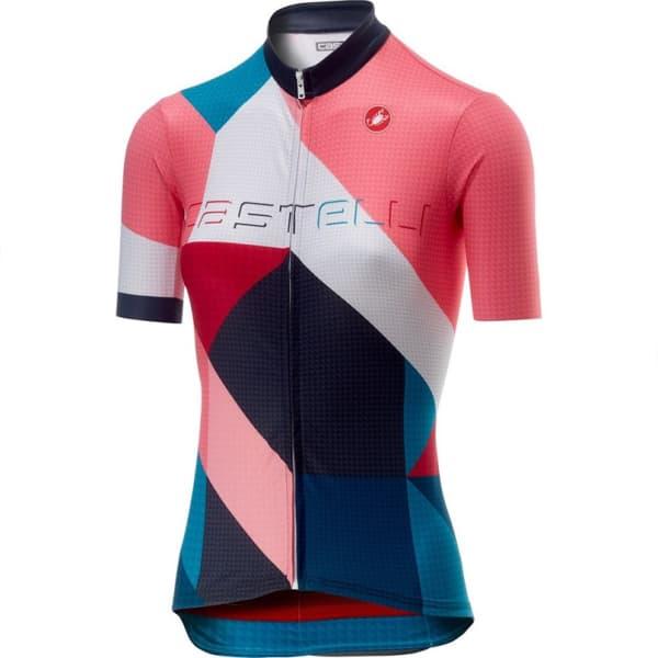 Castelli Ladies Multicolour Ventata Short Sleeve Jersey