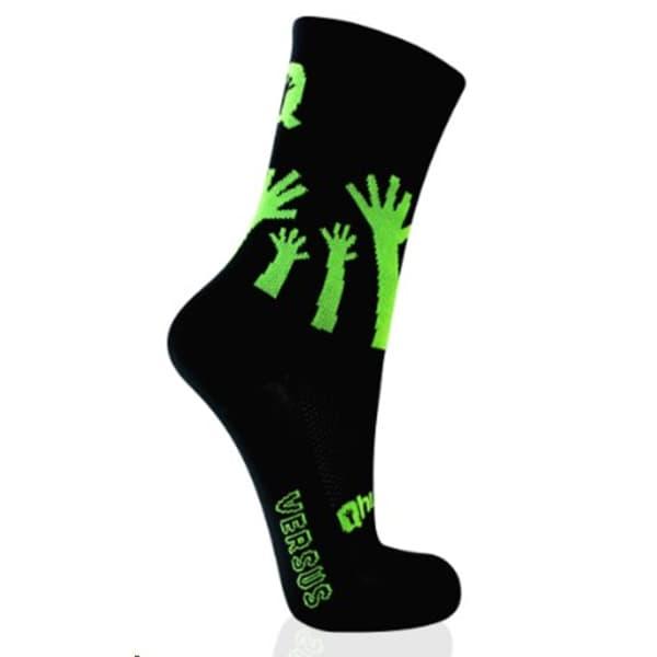 Versus Qhubeka Men's Black/Green Socks