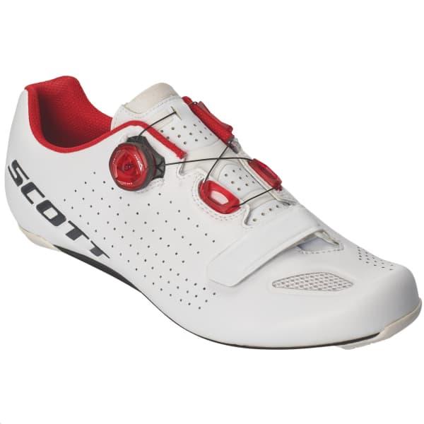 Scott Men's White/Red Vertec Road Shoe