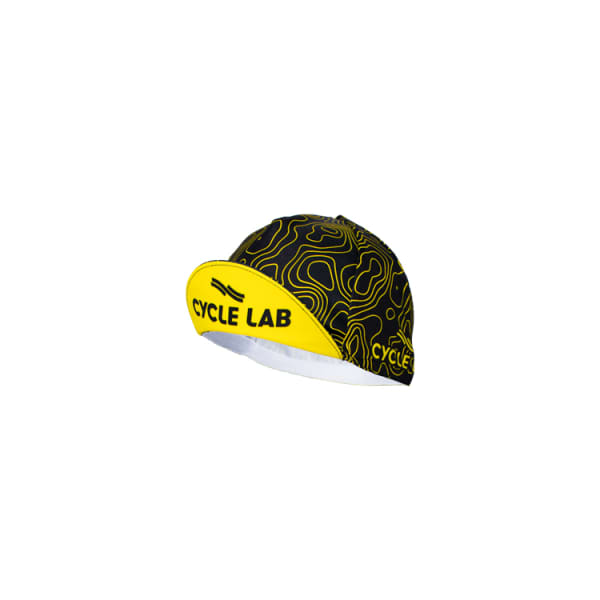 Cycle Lab Contours Black/Yellow Cap