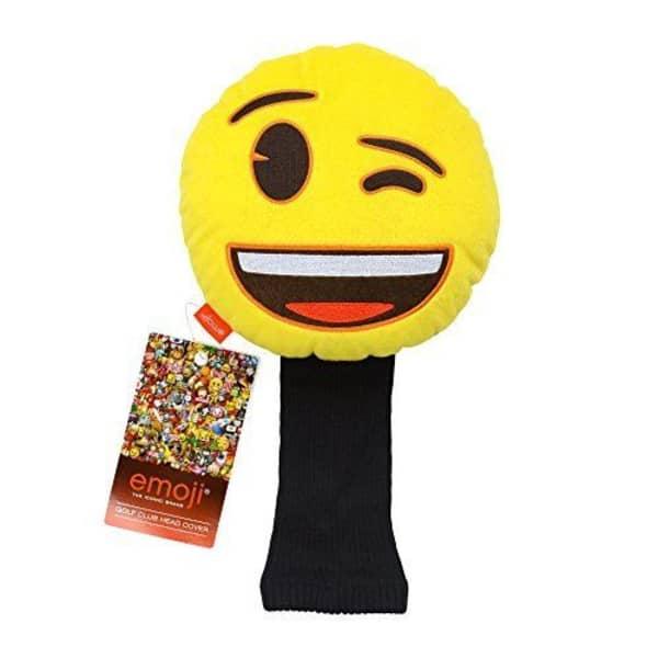 Emoji Wink Wood Cover
