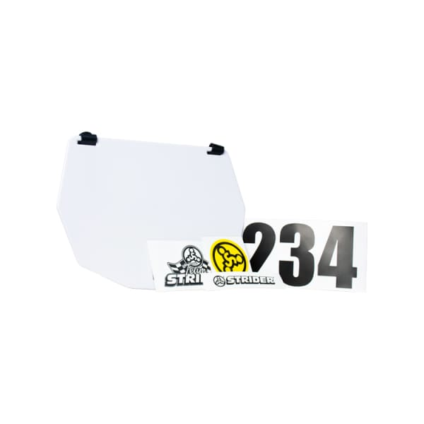 Strider Number Plate Mud Guard