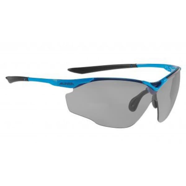 Alpina Splinter Shield Black/Blue Sunglasses