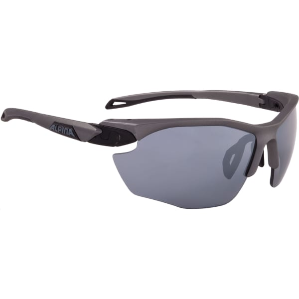 Alpina Twist Five HR Matte Black Sunglasses