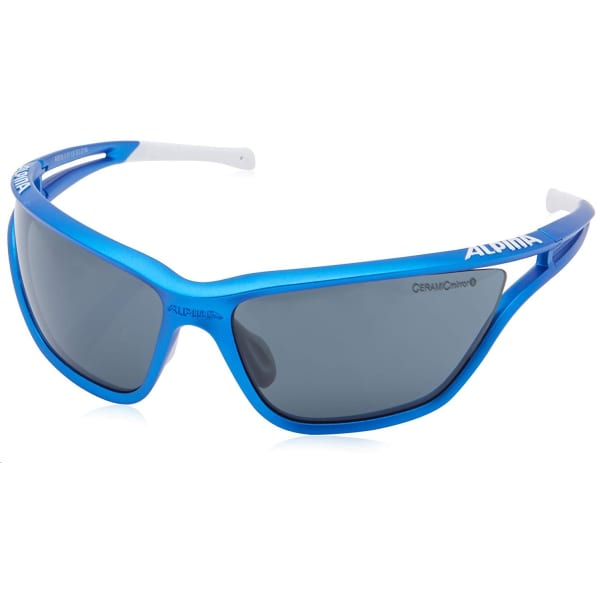 Alpina Sport Eye 5 CM+ Matt Blue/White Sunglasses