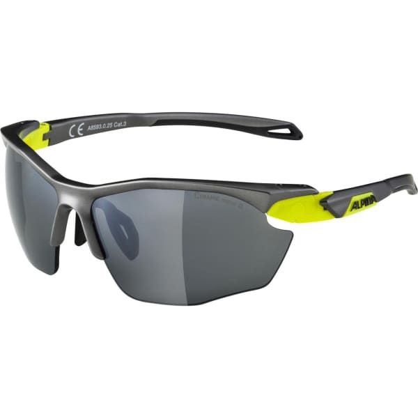Alpina Twist Five HR CM+ Matte Neon Yellow Sunglasses
