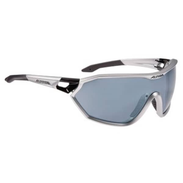 Alpina S-Way Silver/Matte Black Sunglasses