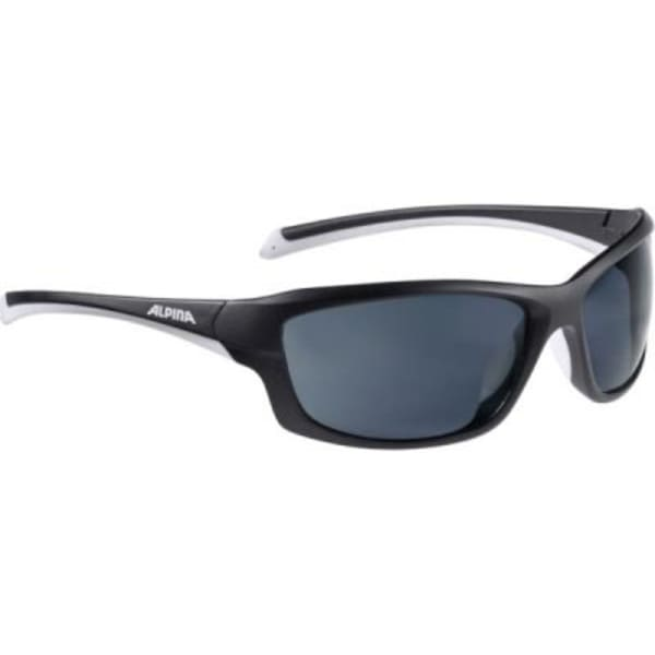 Alpina Dyfer Matte Black/White Sunglasses