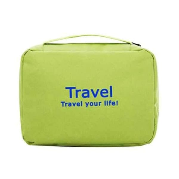 Expandable Toiletry Bag with hanging hook