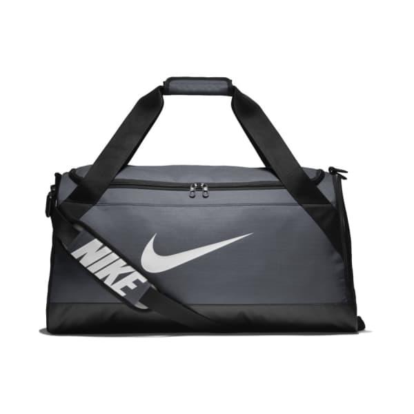 Nike BRASILIA Medium Training Duffel Bag - Flint Grey