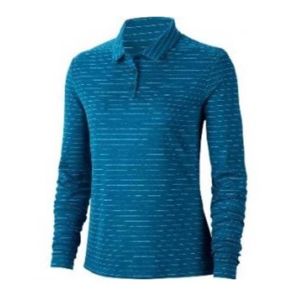 Nike Ladies DRY Long Sleeve Polo