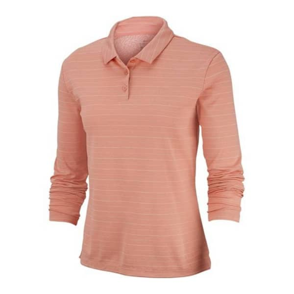 Nike Ladies DRY Long Sleeve Polo