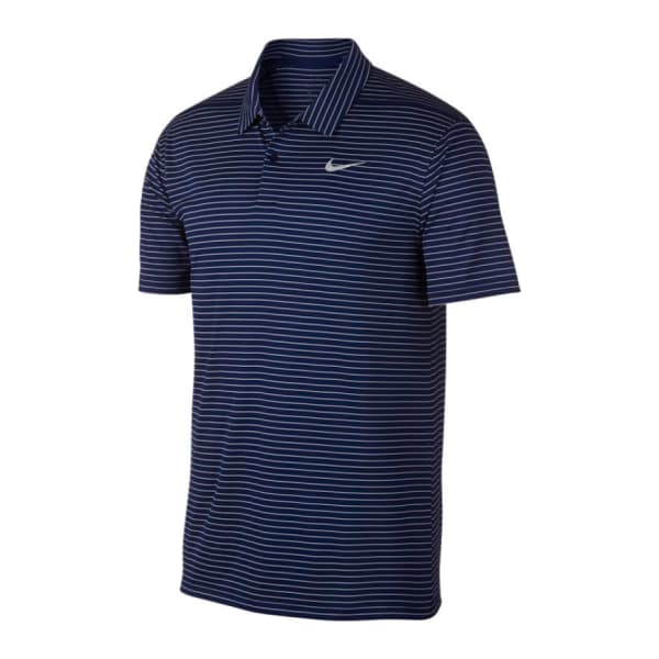 Nike Men's DRY ESSENTIAL STRIPE Polo Golf Shirt