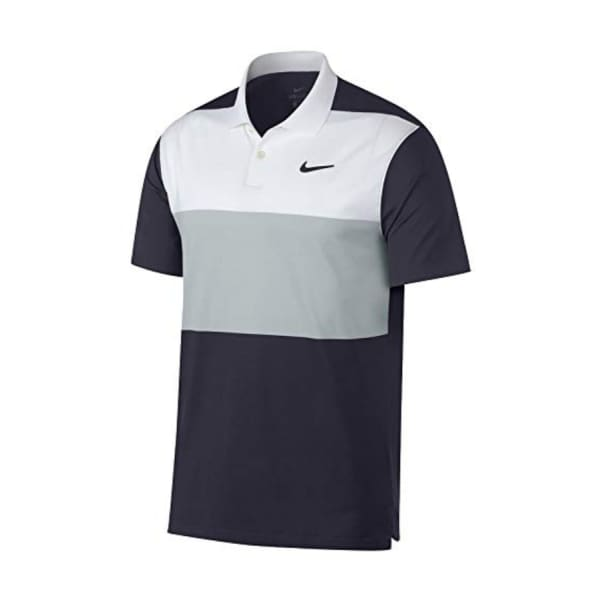 Nike Men's DRY Vapor Colour Block Golf Shirt