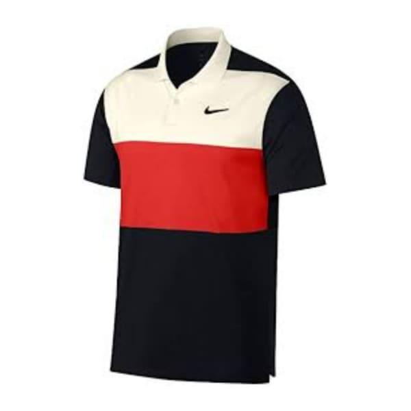 Nike Men's DRY Vapor Colour Block Golf Shirt