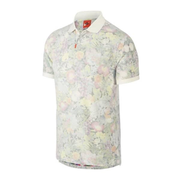 Nike Men's FLORAL SLIM Polo Golf Shirt