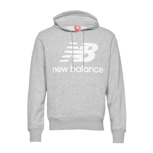 New Balance Ladies ESSENTIALS STACKED LOGO Pullover Hoodie