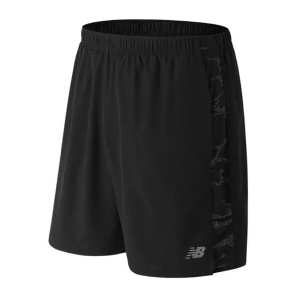 "New Balance Men's ACCELERATE Printed 7"" Shorts"