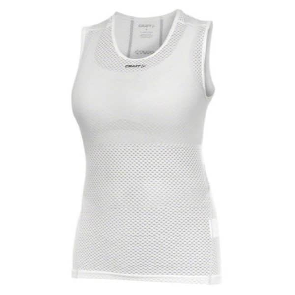 Craft Cool Mesh Ladies Sleeveless White Base Layer