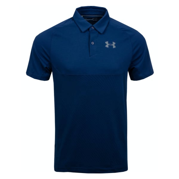 Under Armour Men's Tour Tips Blocked Polo