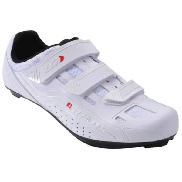 Louis Garneau Chrome 3 Strap White Road Shoe
