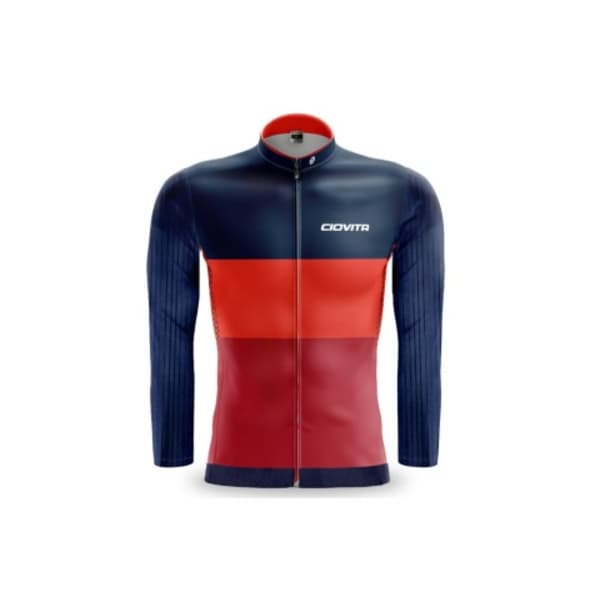 Ciovita Men's LUNA Long Sleeve Cycling Jersey