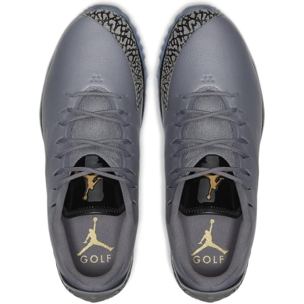 Nike Jordan ADG Men's Gunsmoke/Gold Shoes